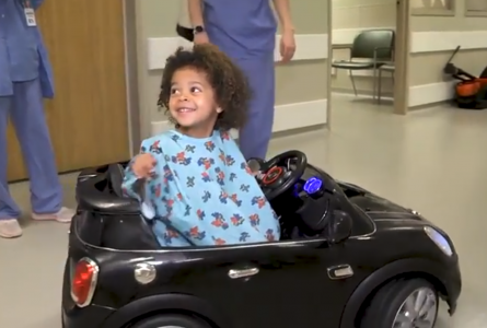 Surgery remote-controlled cars