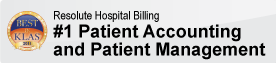 Resolute Hospital Billing - #1 Acute Patient Accounting and Patient Management