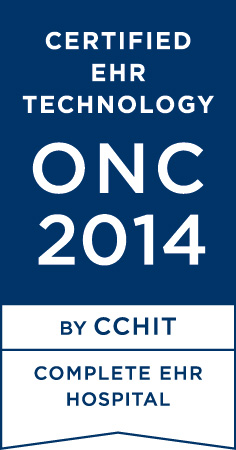 Certified EHR Technology - ONC 2014 - By CCHIT - Complete EHR - Hospital